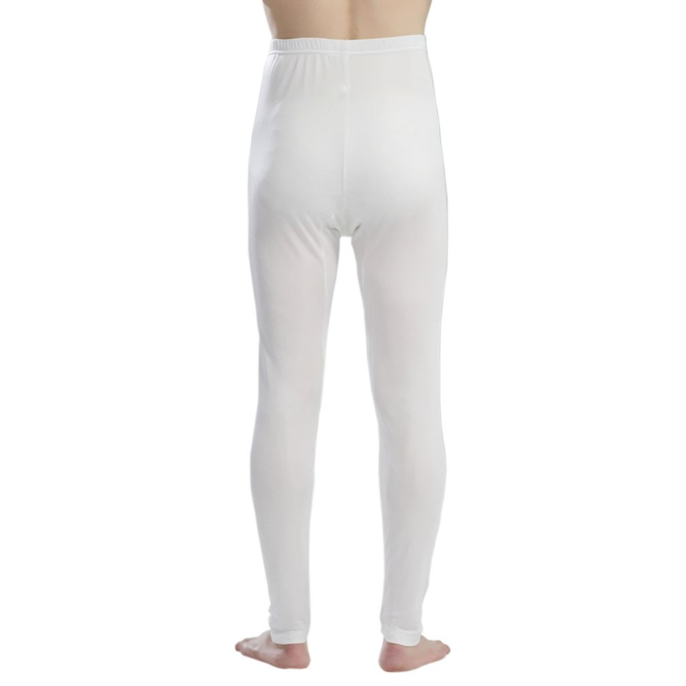 Silk Men Pants 100% Pure Silk Jersey Knit Long Johns Bottom Only Men Legging Thin Underwear Pants Size L XL XXL