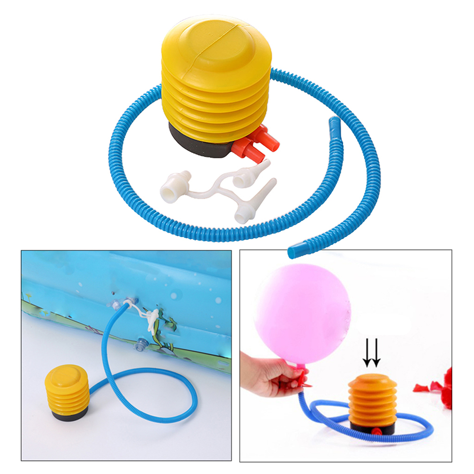 Foot Air Pump Inflatable Bed Swimming Ring Pool Bathtube Balloon Inflator 4/'/'