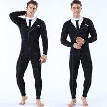 Neoprenanzug Männer 2mm Männer Bademode Segeln Kleidung Gummi Hosen für Mann Speer Angeln Anzug Triathlon Tauchen anzug Neopren Badeanzug
