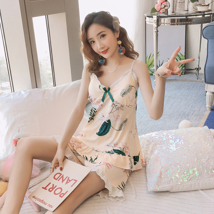 Hua Bian Tao Lily Camisole Chest Pad Set Four Code M ~ XXL Code (Deconstructable)