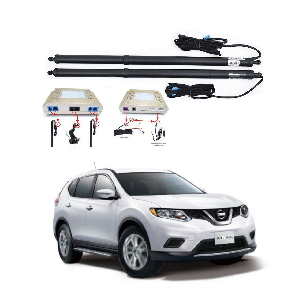 New Electric Tailgate Refitted For NISSAN X-TRAIL 2015-2020 Tail Box Intelligent Electric Tail Door Power Tailgate Lift Lock