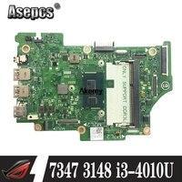 Laptop Motherboard FOR Dell Inspiron 11 3000 3148 13 7347 0JJYG4 JJYG4 CN 0JJYG4 with i3 4010U CPU fully Test well