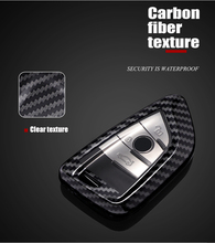 Blade Carbon Fiber Key Shell for BMW 7 Series X7 Key Case 5 Series X5 Key Case X1 X3 Key Case 6 Series GT X6 Keychain Set rock vision series case for iphone 7 4 7 carbon fiber texture tpu pc mobile shell gold