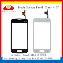 10Pcs/lot For Samsung Galaxy Star Pro S7260 S7262 GT-S7262 Touch Screen Digitizer Panel Sensor S 7260 7262 LCD Glass