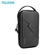 TELESIN sac de rangement étanche EVA Case bricolage boîte de rangement pour DJI OSMO Action OSMO poche GoPro Hero 8/7/6/5 caméra daction