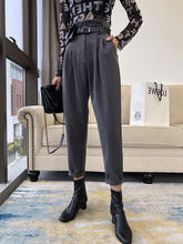 Женские свободные прямые Костюмные брюки zosol hua bao ku с