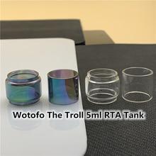 Wotofo The Troll 5ml RTA Tank Normal Bulb Tube 7.5ml Replacement Glass Tube