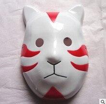 Máscara ninja naruto anbu, acessório para fantasia de festa