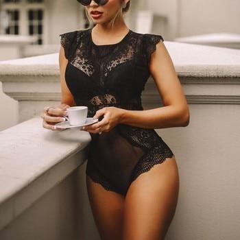 Women Fashion Bodysuit INTIMATES Wireless