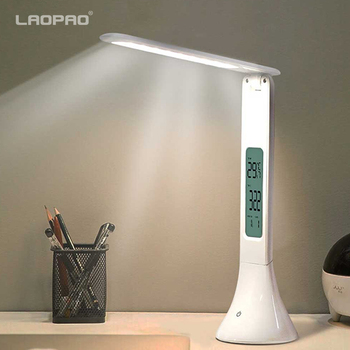 Touch Table Lamp with Alarm Clock  1