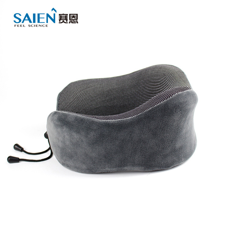 Memory Foam Space Memory Foam Pillow Travel Portable Care Cervical Pillow Magnet Therapy U Shaped Memory Foam Pillow Gift Custom