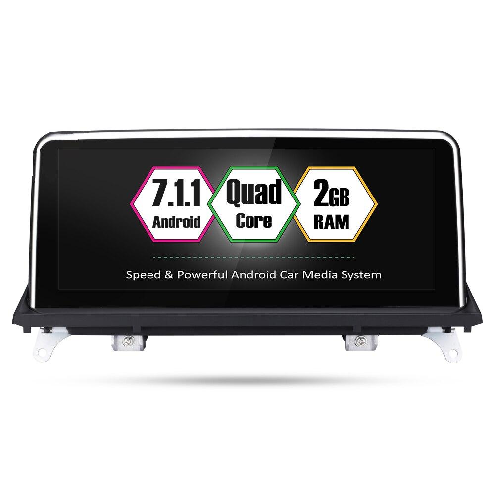Lecteur multimédia de voiture Bluetooth d'origine DVD écran tactile autoradio stéréo pour BMW X5 E70 X6 E71 CCC système CIC système NBT