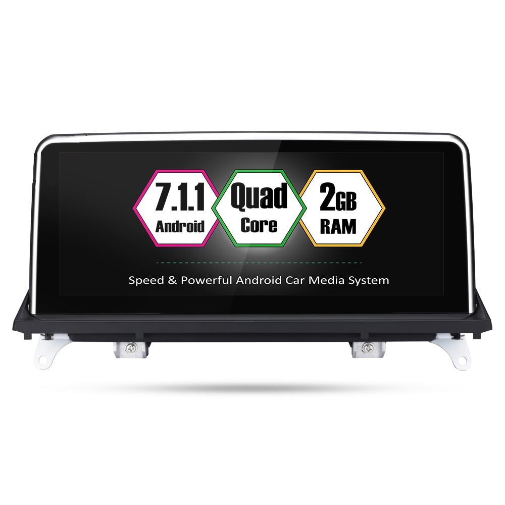 Original Car DVD Touch Screen Radio Bluetooth Multimedia Player Stereo For BMW X5 E70 X6 E71 CCC CIC System NBT