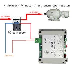 Image 2 - App Afstandsbediening Gsm Schakelaar KL1 GSM T Met Temperatuur Sensor Ondersteunt 10A Uitgang, 1 Temperatuur Detectie, 6 Groepen Controle