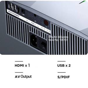 Image 5 - VIVIBright F40 Projector Full HD 1080P LED Real 1920*1080P 5800 Lumens 3D Movie video Projector TV Stick PS4 HDMI Home Theater