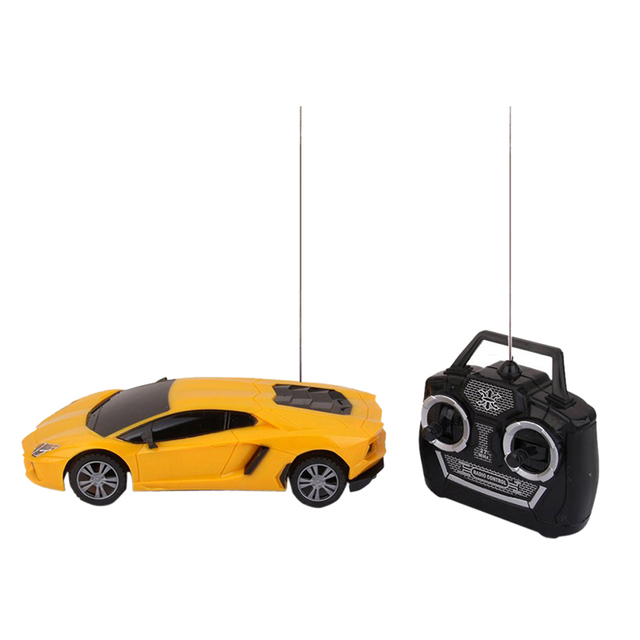 01.24 4 Channel Electric Rc Remote Controlled Car Children Toy Model Gift With LED Light 1