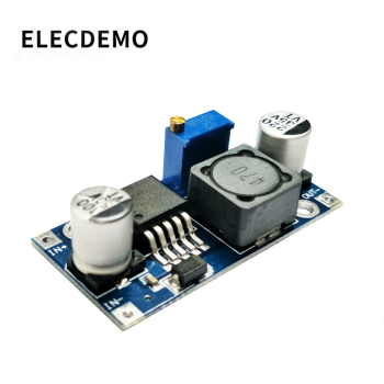 LM2596s DC-DC step-down power supply module 3A adjustable step-down module LM2596 voltage regulator 24V 12V 5V 3V Buck Converter dc dc voltage converter positive to negative step down power supply boost buck module 3 15v to 3 3v 5v 6v 9v 12v 15v