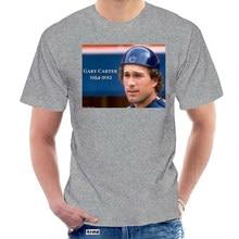 Gary Carter Rip montréal Expos Ny Mets t-shirt nouveau hommes printemps été robe à manches courtes décontracté @ 049159