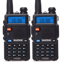 2PCS Baofeng UV-5R Walkie Talkie bf uv5r cb radio handheld long range