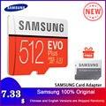 Карта памяти SAMSUNG 32G 64G 128G 256G 512G Micro SD SDHC SDXC класс EVO + класс 10 C10 UHS TF SD карты