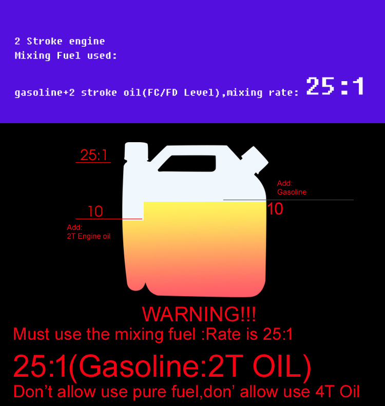 Engine Drill Petrol For 2T Cutter Motor Hanger Brush Water Gasoline Backpack For 63CC Pump Trimmer Earth Powerful Scooter Grass