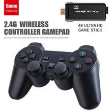 USB Drahtlose Klassische Mini Spielkonsole Gebaut in 3500 Klassische Spiel 8 Bit Retro Video Spielkonsole Handheld TV Dual gamepad Geschenk