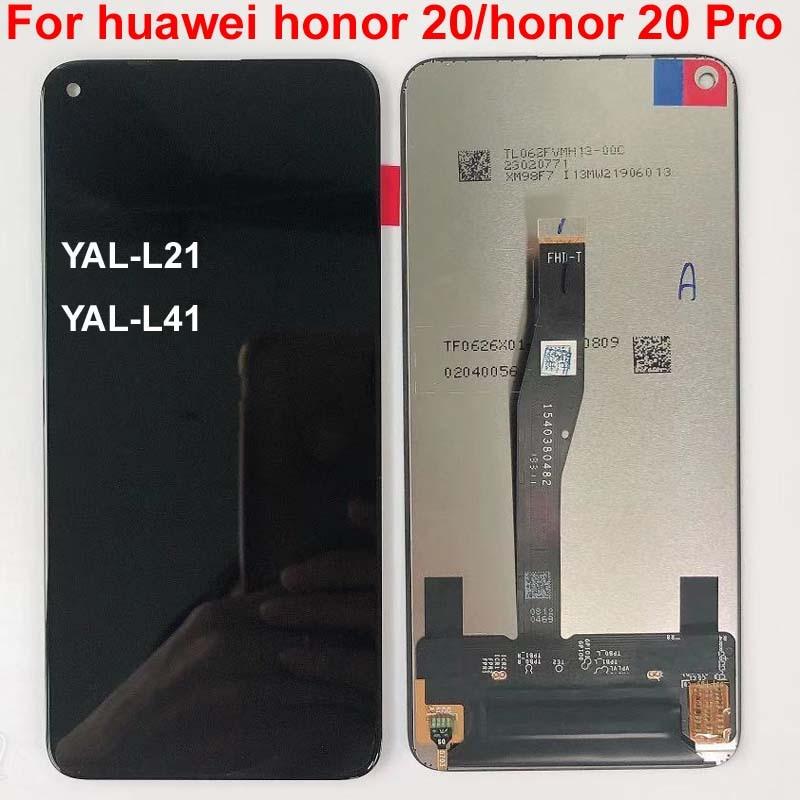 Nouveau Original 6.26 pour Huawei honour 20 honour 20 Pro YAL L21 YAL L41 YAL AL10 LCD écran tactile numériseur pièces d'assemblage-in Écrans LCD téléphone portable from Téléphones portables et télécommunications on AliExpress - 11.11_Double 11_Singles' Day 1