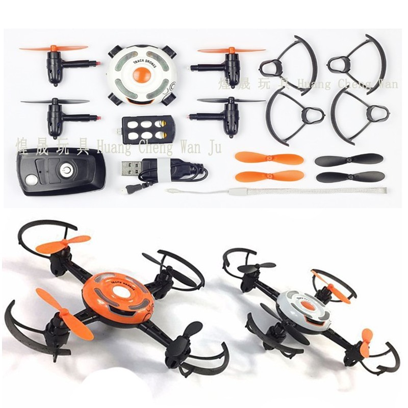 Teaching Unmanned Aerial Vehicle Small Package 19 New Products Gravity Sensing DIY Assembled Quadcopter Wifi Aerial Photography