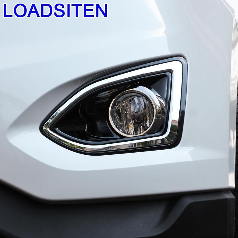 Modified Auto Automovil Decorative Front Fog Lamp Exterior Accessories Bright Sequins Modification Decoration 15 FOR Ford Edge