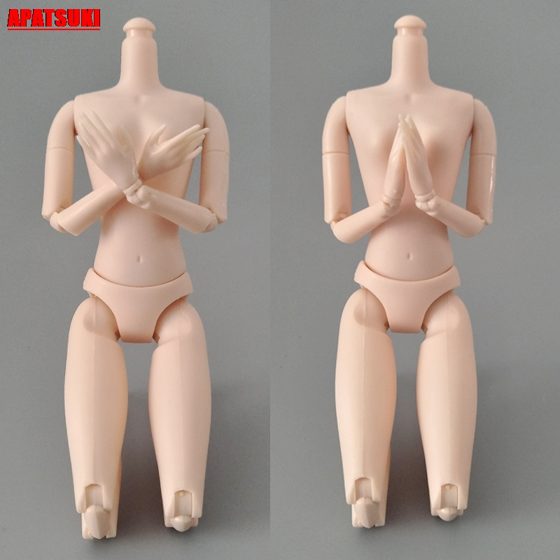1pc 1/6 14 Jointed DIY Movable Rotatable Naked Doll Body For 11.5