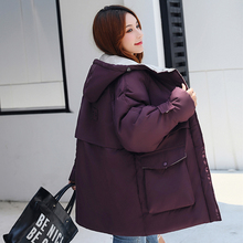 2019 New Long Parkas Female Women Winter Coat Thickening Cotton Jacket Womens Outwear for