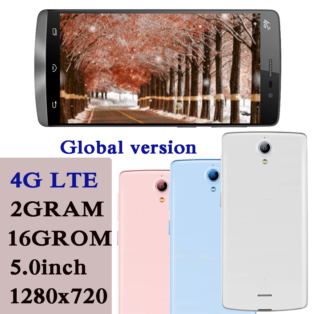 10i 4G LTE Globale Version Smartphone NFC 2G RAM + 16G ROM 5,0 zoll Full Screen Quad core 5MP + 13MP Android Handys Celuares