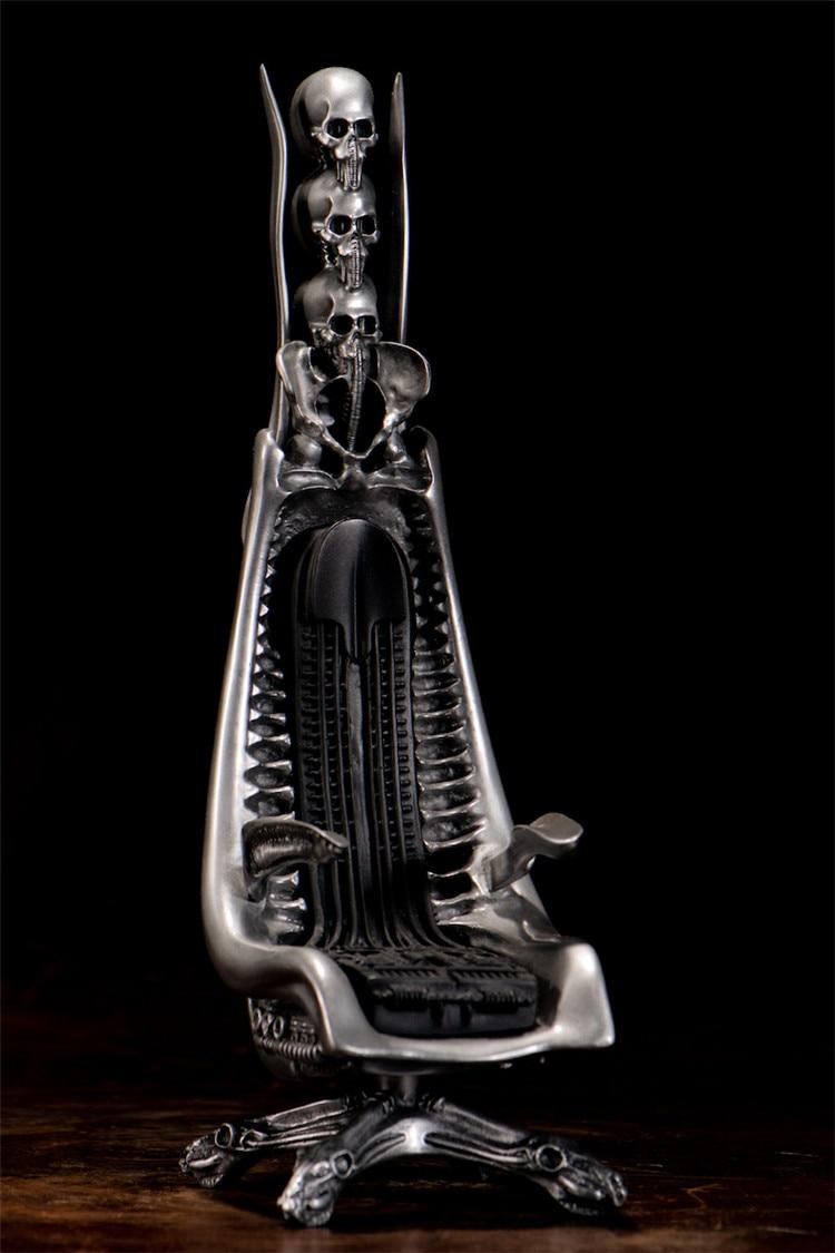 Giger Harkonnen Capo Chair Cast Aluminum Statue Sculpture