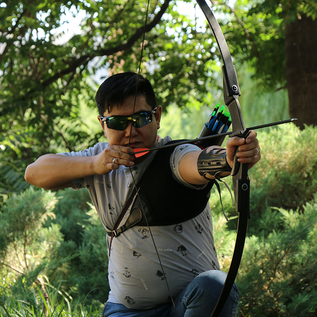 Hot 30lbs/40lbs Taken down Recurve Bow for Archery Bow Shooting Hunting Game Outdoor Sports Right hand&left hand bow can choose 5