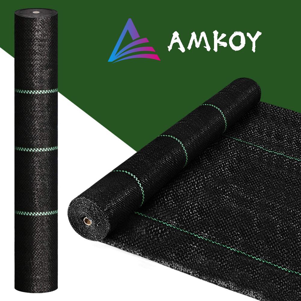 100gsm Agricultural Anti Grass Cloth Farm-oriented Weed Barrier Mat Plastic Mulch Thicker Orchard Garden Weed Control Fabric