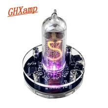 GHXAMP IN 14 pojedyncza tuba Glow Clock Nixie tube Audio akcesoria domowe Diy USB 5V