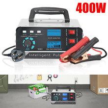 400W Auto Batterij Oplader Opladen Power Vijf-Stage Reparatie 130V-250V Snel Opladen Winter Automatische aanpassing Auto Accessoires