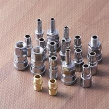 18 pçs/lote kit conjunto rápido 1/4 Polegada linha de ar mangueira compressor montagem acoplamentos conector liberação masculino fêmea ferramenta ar acessórios