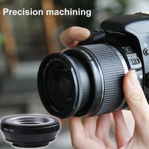 Image 2 - M42 NX de haute précision réglable objectif fileté M42 à monture NX anneau adaptateur dobjectif de caméra pour appareil photo Samsung NX11 NX10 NX5