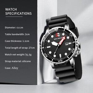 Image 5 - אופנה צבאי שחור גברים שעונים למעלה מותג יוקרה עמיד למים גדול גודל זמן אזור מעגל עיצוב קוורץ שעון גברים Relogio Masculino