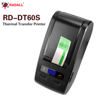 High quality Thermal Transfer Printer Label Barcode Printer NFC Bluetooth 48mm Print Width for POS Logistic Jewlery Retail