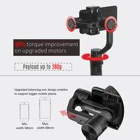 Hohem смартфон карданный 3-осевой Ручной Стабилизатор для iPhone11Pro/Max, для смартфонов на базе Android, samsung S10, iSteady Мобильный плюс 2