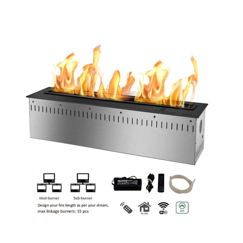 36 inch remote control smart fire place - 4