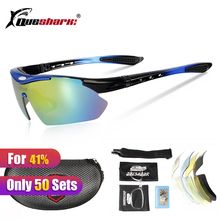 5 Lens Polarized  Fishing Sunglasses Rechangable Lens Angling Camping Glasses Fisherman Goggles Sports Fishing Eyewear With Band