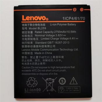 100 ٪ الأصلي اختبار 2750mAh BL259 لينوفو الليمون 3 3S K32C30 K32c36 فيبي K5 / K5 زائد / A6020a40 A6020 a40 A 6020a40 البطارية 1