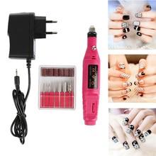 1 Set Professional Electric Nail Drill Machine Kit Manicure