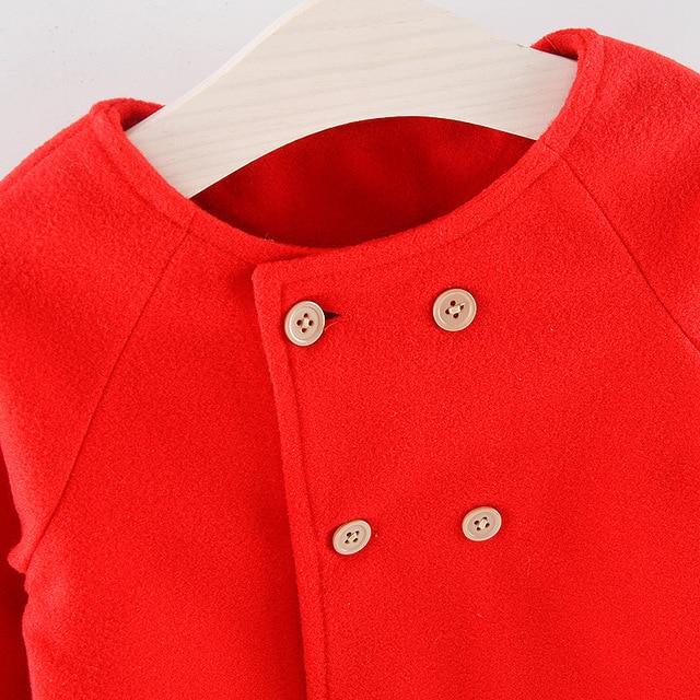 Baby Girl's Warm Coat 5