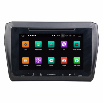 9 octa core 1280*720 QLED screen Android 10 Car radio GPS Navigation for Suzuki Swift 2017 with 4G/Wifi DVR OBD image