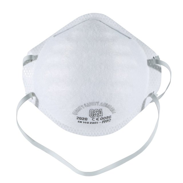 1/5/10pcs Anti-fog headband FFP2 grade round mask non-woven Dust Mask Anti-Haze Flu, Anti-PM2.5 Protective Mask 2