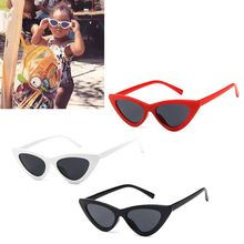 Детские солнцезащитные очки кошачий глаз, модные брендовые Детские солнцезащитные очки с защитой от ультрафиолета, солнцезащитные очки дл...